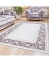 Hochwertiger Moderner Designer Wohnzimmer Teppich Empera Lavinia E1202 Violett
