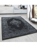 Classical Oriental Living Room Oriental Rug Marrakesh 0297 Grey