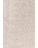 Shaggy pile living room Shaggy carpet, solid color pile height 5cm cream