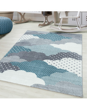 kids rug, nursery rug cloud...